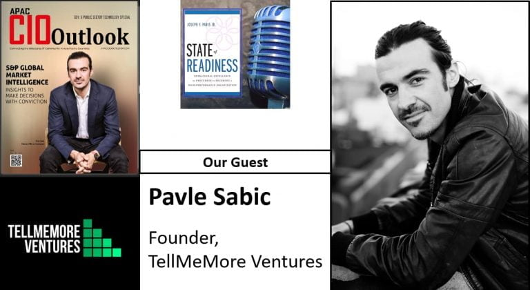 Pavle Sabic; Founder of Tell Me More Ventures