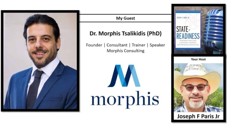 Dr. Morphis Tsalikidis (PhD); Founder | Consultant | Trainer | Speaker at Morphis Consulting