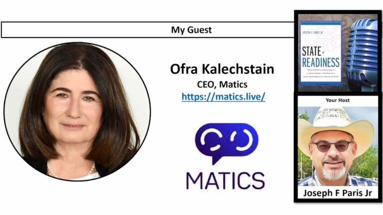 Ofra Kalechstain, CEO of Matics