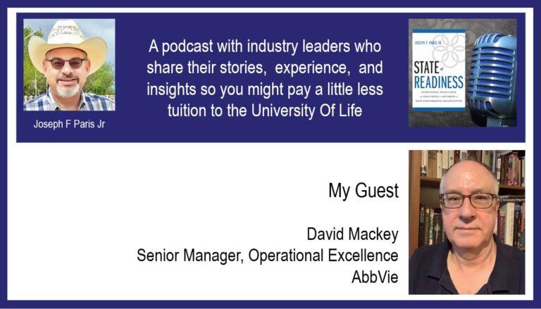 David Mackey; Senior Manager, AbbVie